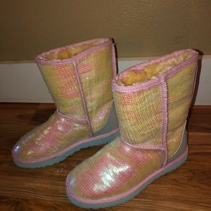 Ugg Classic Boot with Sequins